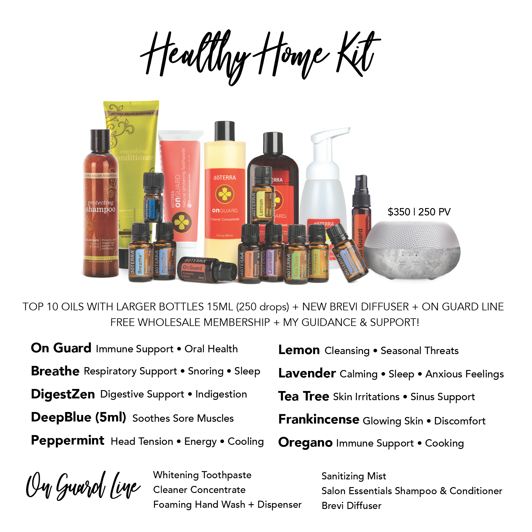 Healthy Home Kit DoTERRA